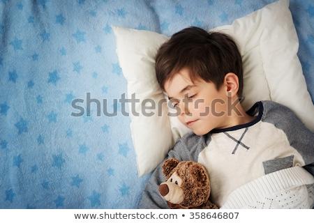 Alszik gyerekek kettő értékes karácsony álmodik Stock fotó © rcarner