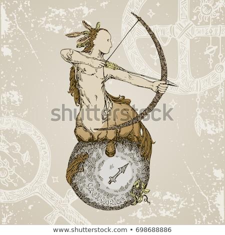 Color Zodiacs sagittarius Stock photo © cidepix