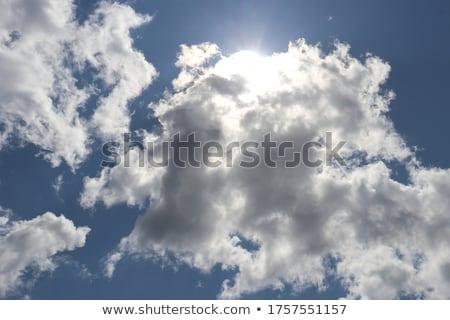 Nubi montagna cielo estate viaggio Foto d'archivio © lithian