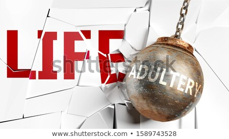 Adultery Stock photo © leeser