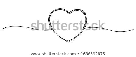 Foto d'archivio: Hands In Form Of Heart