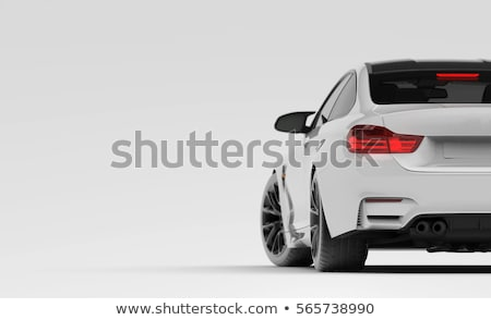 luxus · sport · autó · kék · fény · terv - stock fotó © yurok