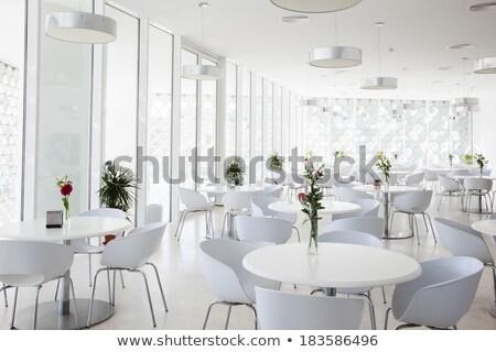 Stok fotoğraf: Summer Cafe Interior