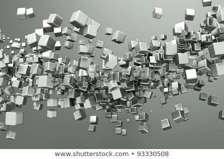 speech bubbles on titanium background Stock photo © smeagorl