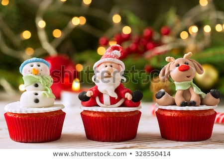 Stock photo: old cake decoration