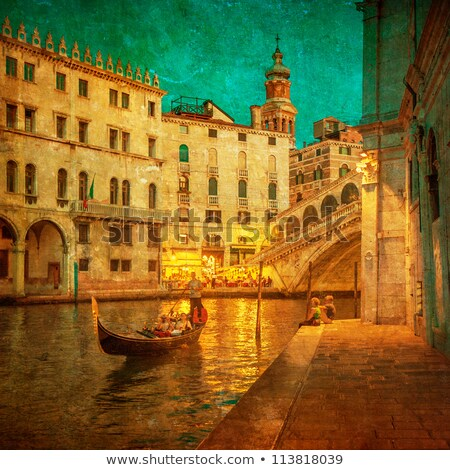 Foto stock: Grunge Grand Canal