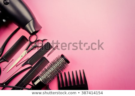Scissors And Comb For A Hairdresser Stock photo © stuartmiles