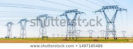 電源 · 塔 · 空 · ビジネス · 建設 · 技術 - ストックフォト © brianguest