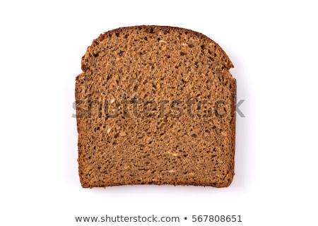 organisch · vers · brood · patroon · meel · zwarte - stockfoto © taigi