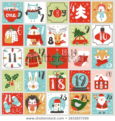 calendar day christmas stock photo © devon