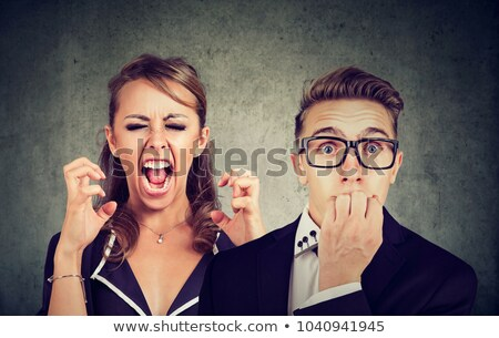 Donna geloso Coppia donne ragazze rabbia Foto d'archivio © photography33