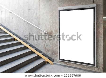 blank billboard indoor stock photo © leungchopan