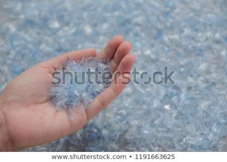 Woman recycling plastic bottles Stock photo © photography33