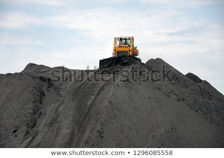 coal stock pile stock photo © stoonn