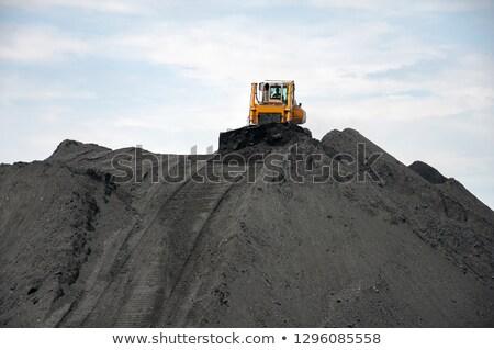 уголь складе используемый промышленности работу Сток-фото © stoonn