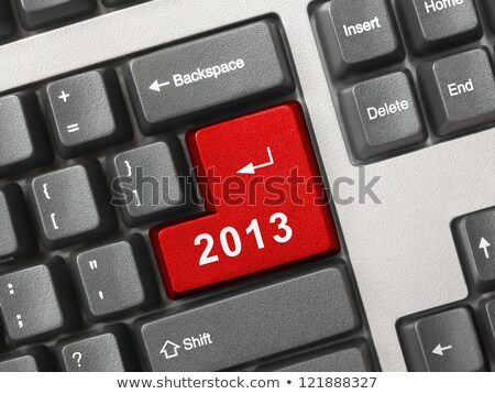 コンピュータのキーボード · 2013 · キー · 技術 · 冬 · メール - ストックフォト © redpixel