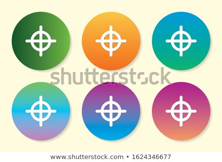 Set of 6 Vector Shooting Targets Stock photo © Kaludov
