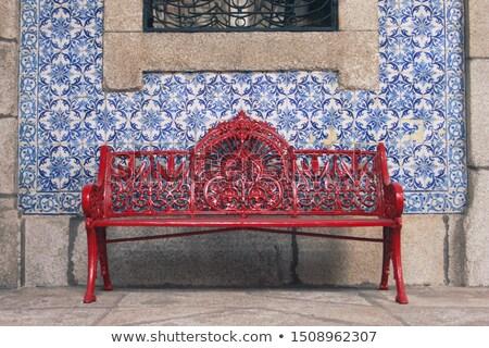 détail · vue · traditionnel · maison · herbe - photo stock © inaquim
