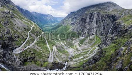 Trollstigen Pass Stock photo © Harlekino