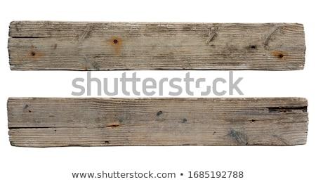 Nail in an old board Stock photo © rashch