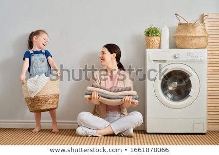 Roupa máquina de lavar tiro Foto stock © devon
