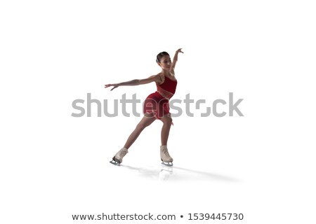 Stock photo: Figures from ice