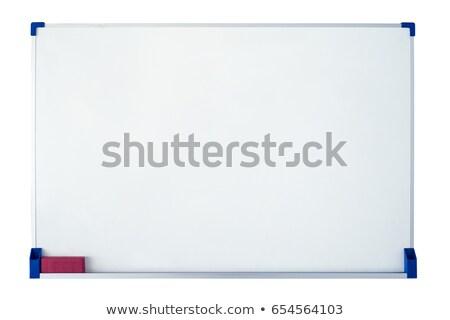空っぽ メモ帳 壁 白 レンガの壁 ビジネス ストックフォト © tashatuvango