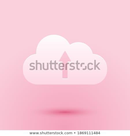 Pictogram roze woorden business telefoon Stockfoto © seiksoon