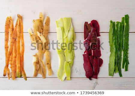 Plantaardige aardappel wortel werk diner koken Stockfoto © trgowanlock