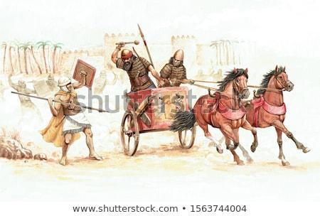 Oriental horseman Stock photo © vadimmmus