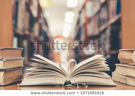 schoolmeisjes · lezing · sprookje · klas · student · notebook - stockfoto © dododidi