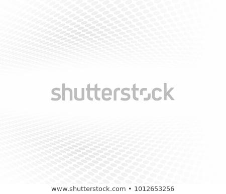 Stok fotoğraf: Yarım · ton · perspektif · düzenlenebilir · vektör · soyut · uzay