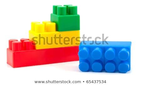 スタック カラフル ビルディングブロック 赤ちゃん 建設 ストックフォト © Paha_L