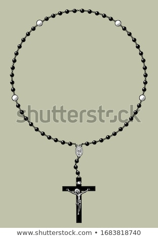 rosary beads Stock photo © Marfot