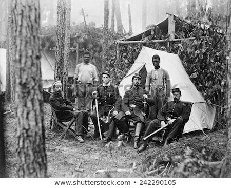 American Civil War Union officer Stock photo © patrimonio