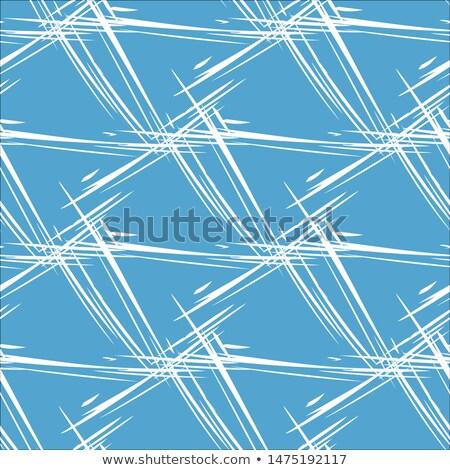 Sin costura aislado colgante azul cuadros naturaleza Foto stock © ArenaCreative