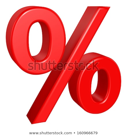 Symbol of per cent Stock photo © zzve