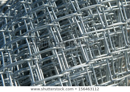 New Chain Link Fencing Material In Roll Stock fotó © pixelsnap