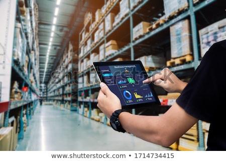 Electronic identification Stock photo © Anterovium