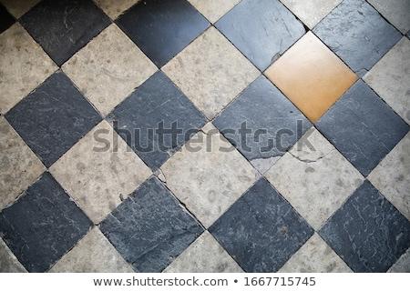 Mozaiki Płytka starych ściany piętrze Zdjęcia stock © Melvin07