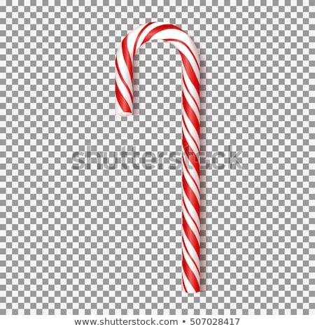 traditional christmas candy canes stock photo © karandaev