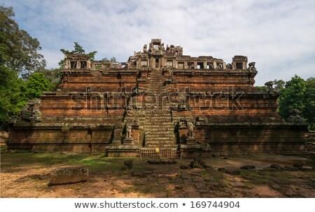 королевский дворец руин древних Ангкор комплекс Сток-фото © searagen