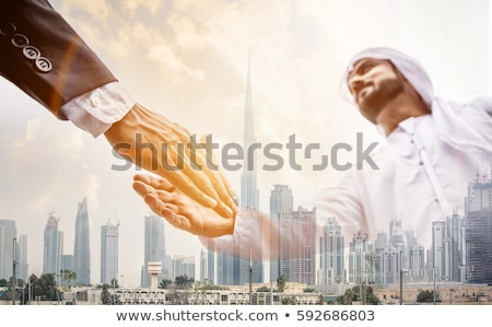 Western Eastern Global Business Stock photo © Lightsource