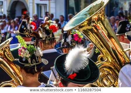 Brass band in Bavaria Stock photo © Kzenon