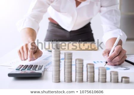 negocios · idea · respuestas · hombre · innovador · solución - foto stock © ratch0013
