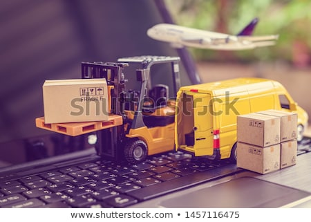 fragile delivery service stock photo © kurhan