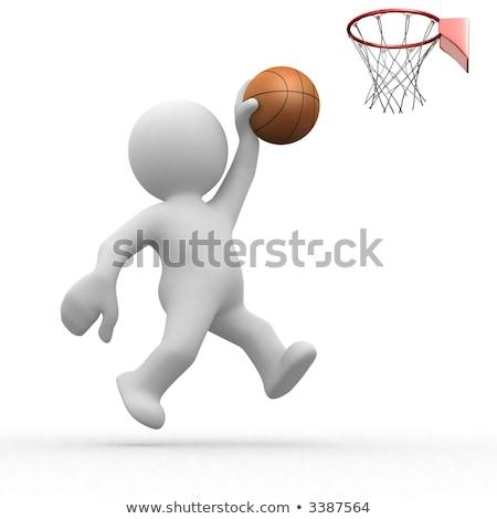 3d human basketball player stock photo © istanbul2009