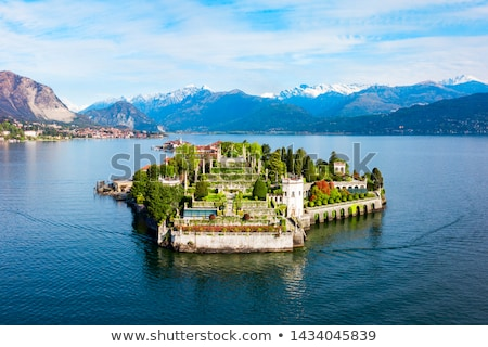 Lake Maggiore and Isola Bella in Italy. Stock photo © rglinsky77