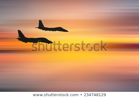 fighter jet abstract Stock photo © nelsonart