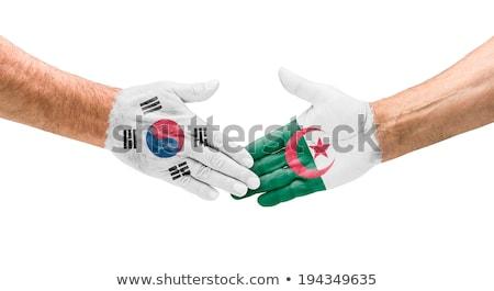 SOUTH KOREA vs ALGERIA Stock photo © smocker03